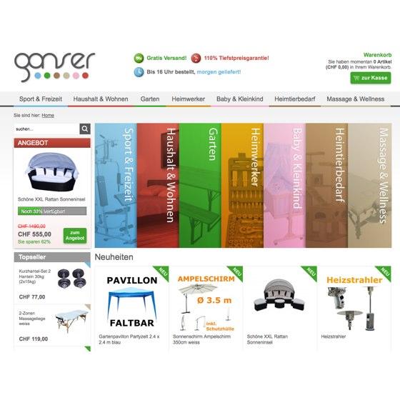 Gonser international trading gmbh telefon